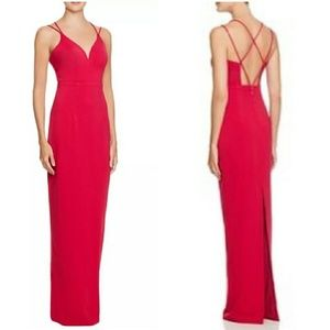 Bariano Pink Gown open back STUNNING!!